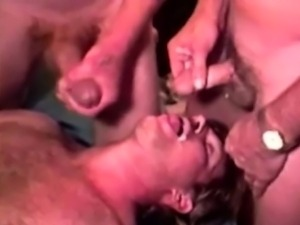 Mature gaystraight rednecks jizzed on