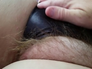 bbw wifes chubby long hairy pussy in black silk pantys