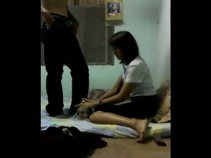 Hidden Cams Thai nisit fuck with BF