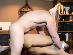 Elder anointed with cum