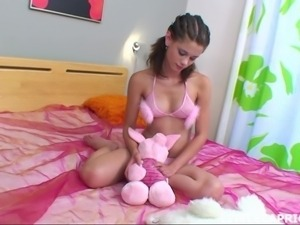 little caprice is in the nude