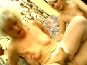 Grannies Francesca and Erlene starve for cock