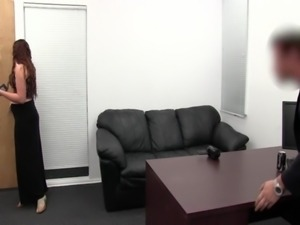 Curvy Amateur's First Blowjob - Sherry on BRCC free
