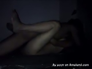 Indian couple enjoying hot quickie