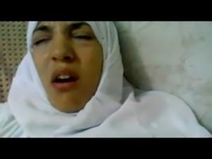 Wonderful Egyptian arabic hijab girl fucked in hospital free