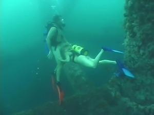 Deep Scuba Threesome - Part 2