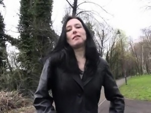 Fae Corbins amateur flashing and outdoor