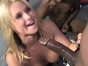 Bbc group slut facial
