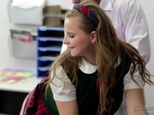 blonde schoolgirl seduces teacher @ corrupt schoolgirls #08