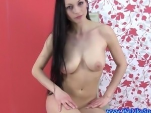 Beautiful bigtitted cocksucker from europe