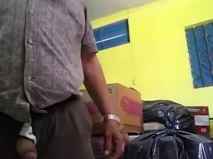 suck Oldman mamada a maduro