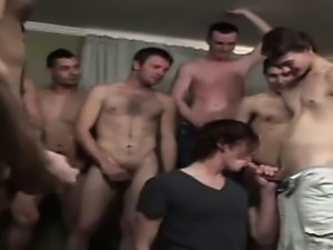 Gay guys Skipping the massage lube for inborn jizz and saliv