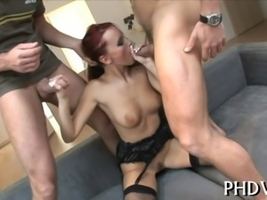 Anal screwing with hottie