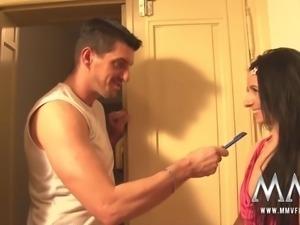 mmv films hot bathroom sex