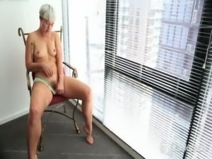 Small Breasted Steel Fingering Her Pussy free