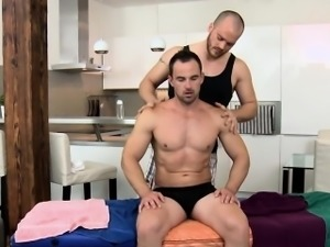 Muscled straighty massage