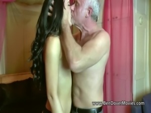 Babe with 60 yr old man at Radlett swingers party free