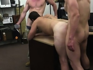 Simple Military guy pulled two dick