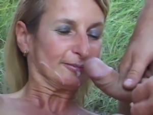 SpermAnneke Bukkake Gangbang cum orgie 8 free