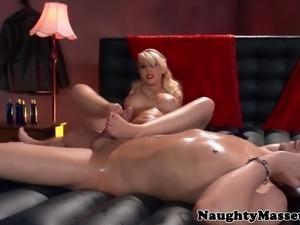 Kagney Linn Karters footjob at massage
