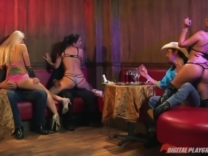 bridgette gets horny around cowboy @ kill bill: a xxx parody