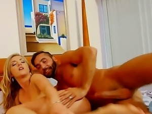 Young milf karla kush cheats on her husband with his friends. They ends up in...
