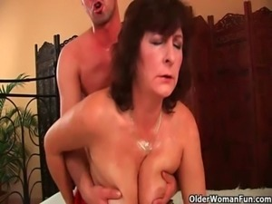 Mom wants you to mount her and blow your load on her free