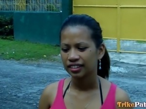 horny filipina entertains a lusty man
