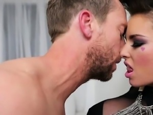 Hot housewife cum in ass