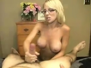 Mom Scolds Him But Goes Sorry When His Cock Gets Limp