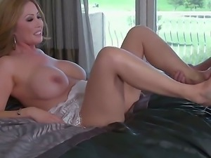 Kianna Dior is a real blonde slut with big massive tits and shes going to get...