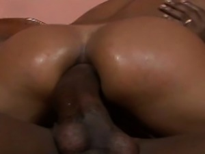 Brazilian babe gets her ass drilled by a big dick