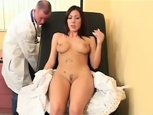 Sexy Lexi came in for her check-up, but didn\'t expect to