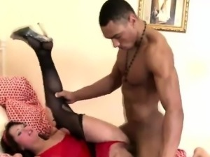 Amanda beck gets ripped and by a very gifted brotha