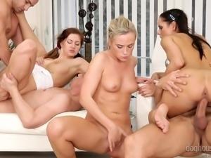 three ladies are in for orgiastic pleasures @ swinger's orgies #10