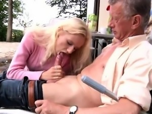 Girl old man and young man sex Richard suggests Helen to tid