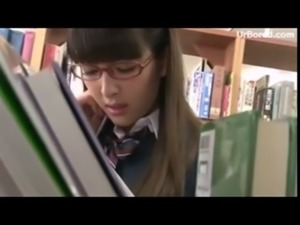 schoolgirl drilled by library geek 01 free