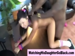 Interracial black guy fucks white girl free
