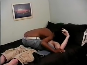 Fuck a Black Girl in Front of Black Husband