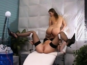 Analfisting fan Nursis playing each other