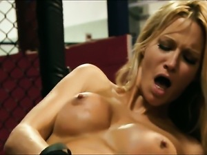 Jessica drake asks her fuck buddy to shove his hard dick in her mouth