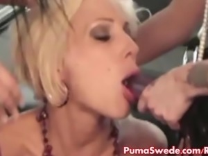 Puma Swede Gets Fucked With Strapon All Girl