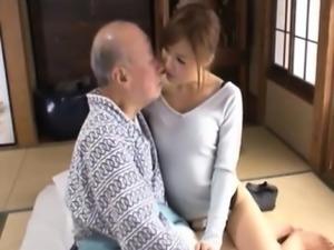 Japanese wife Ayumu n Father-in-Law 1 (subtitle by MrBonham)