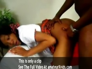 black amateur first time anal