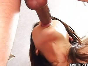 Hot Asian in a wild orgy