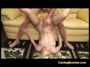 her first big cock porn casting