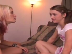 Angel Couture and Naudia Rio are lesbian best friends, who y