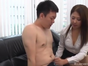 sucking nipples in the boardroom