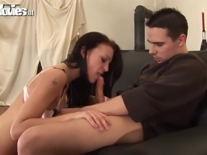 real amateur couple going anal