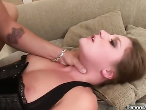 Aurora Snow is out of control with sticky cum on her face